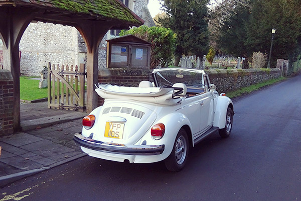 Vintage Festival Wedding Cars