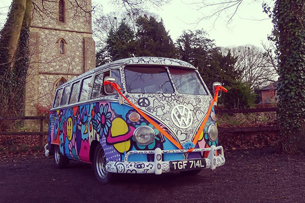 Volkswagen Camper Wedding Hire