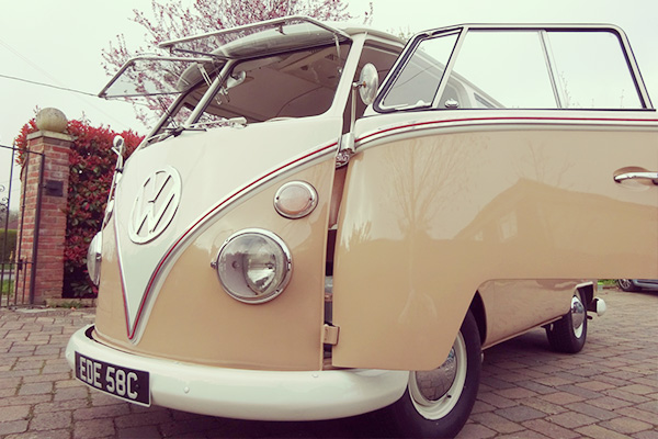 Vintage VW Split Screen Camper