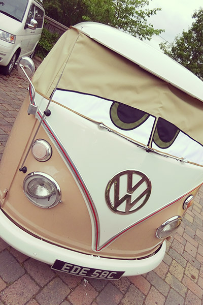 VW Beetle Cabriolet Wedding Hire